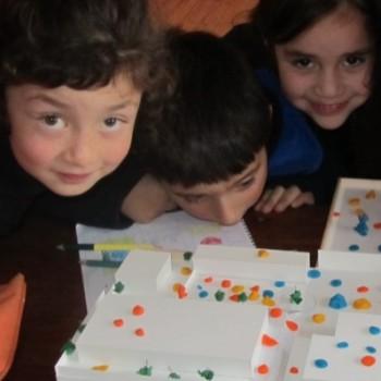 Niños de Escuela Octavio Palma