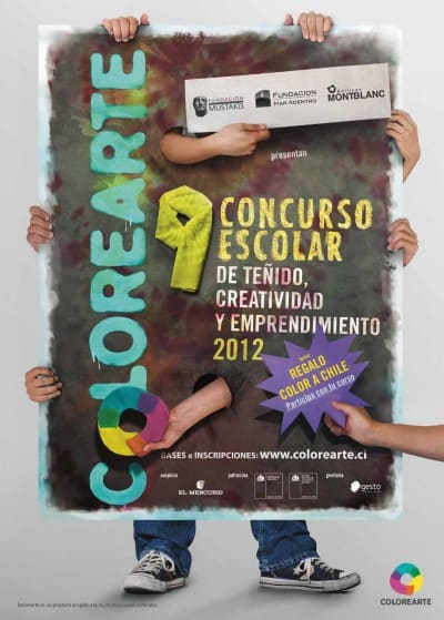 Concurso escolar Colorearte 2012