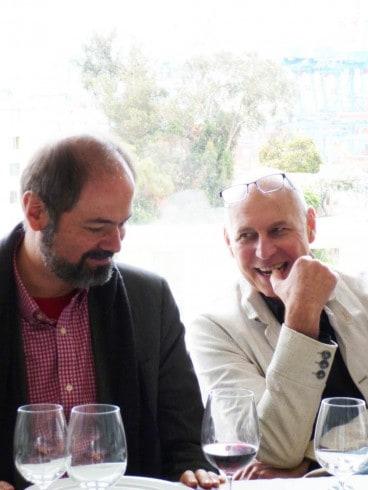 Charles Zucker and Juan Villoro