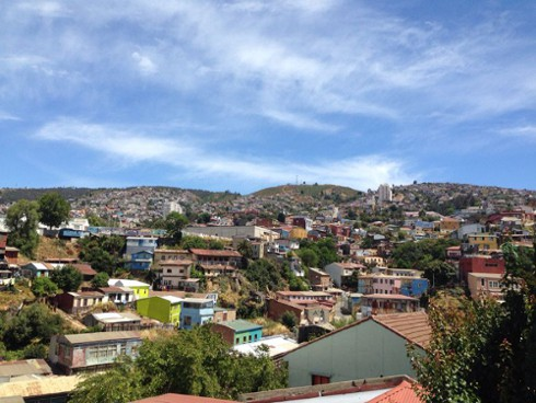 A sunny day in Valparaiso