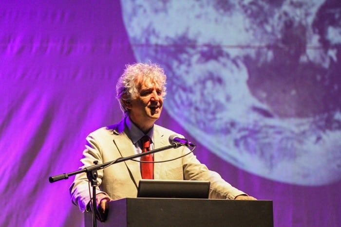 Opening Conference by spanish  paleontologist Juan Luis Arsuaga