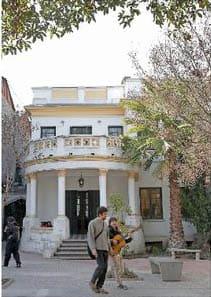 Restoration works on the façades