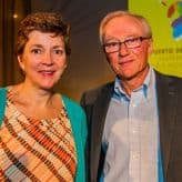 Chantal Signorio y David Grossman
