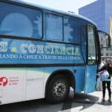 Activities for kids: ConCiencia Bus