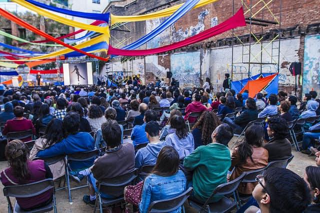Audience at Puerto de Ideas 2014