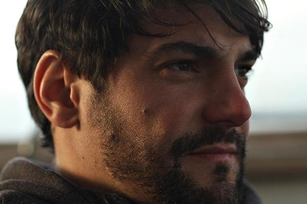 El artista chileno, Gianfranco Foschino