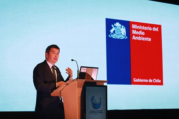 Marcelo Mena, Minister of Environment, Chile