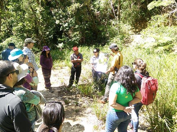 Visita a terreno de la Reserva Costera Valdiviana de The Nature Conservancy