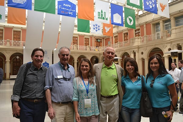 Sam Schuchat, Madeline Hurtado, Peter Kennedy and other attendees.