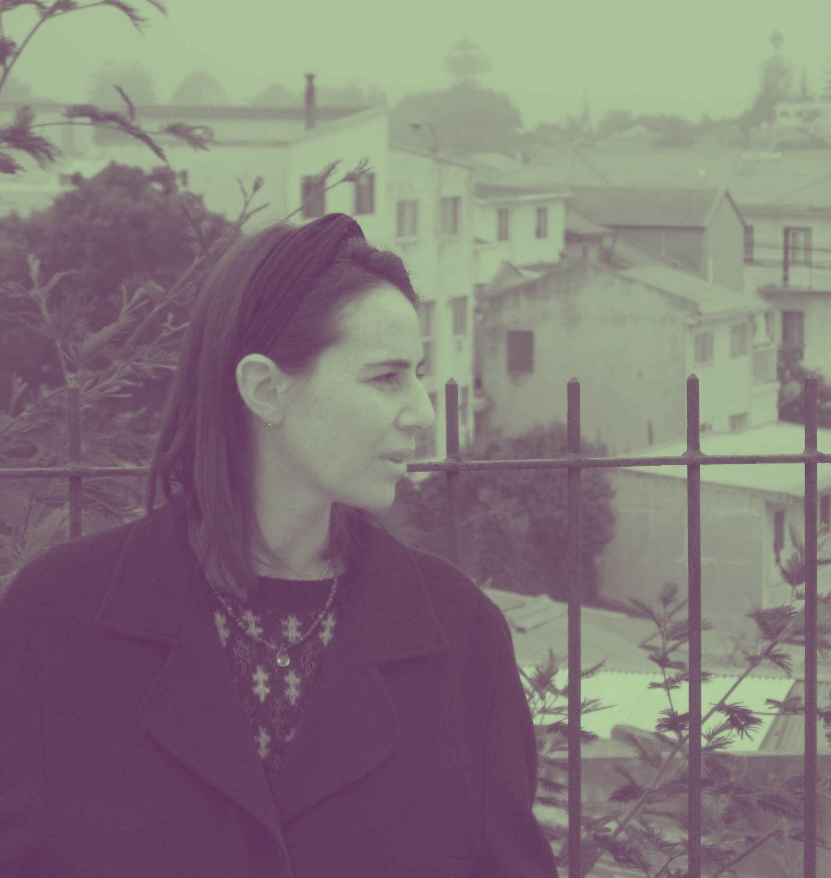 Begoña Ugalde, poet and founder of Ediciones Liquen